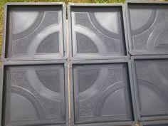 CONCRETE PAVING  GARDEN PATH SLAB BRICK PLASTIC FLOOR TILE MOULD Concrete Paving, Garden Paths, Bricks, Tile Floor, Patio, Flooring, Ebay, Brick, Tile Flooring