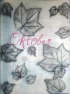 Hello Oktober! Frontpage Oktober in BuJo