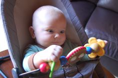 Baby Bjorn bouncer and toy bar such a great invention. Leo loves this and it is so portable perfect for taking places and keeping him busy and entertained