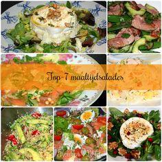 Dit zijn de door jullie best bekeken maaltijdsalades van 2014 op een rij en dat is natuurlijk niet voor niks. Eet je slank en gelukkig!
