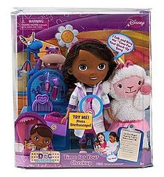 Two Doc McStuffin Dolls Giveaway  – Christmas Extravanza Part 3! http://www.iamthatlady.com/doc-mcstuffin-giveaway/
