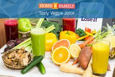 Juice your way to good health with Joe Cross's juice recipes. He lost 100 lbs. in 60 days with these recipes, so why not give it a go! Tune in to Home and Family weekdays at 10/9c on Hallmark Channel!