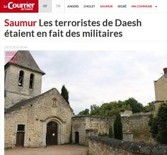 FRANCE – French military just caught staging ISIS false flag Saumur, France, Screen Shot, Staging, Barcelona Cathedral, Taj Mahal, House Styles, Travel, Military Men