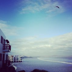 #westcoast #waves #ocean #sky #southafrica #clouds #bird