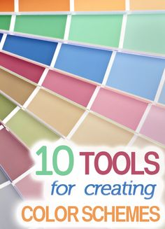 These online tools will help you create the perfect color palette.