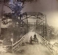 Doniphan County, the old Current River Bridge