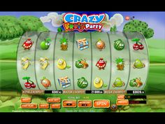 Buy Video Slot game for Online Casino - Crazy Fruit Party Video Slot Game
