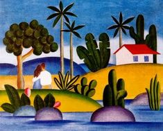 IDILIO (1929), Tarsila do Amaral
