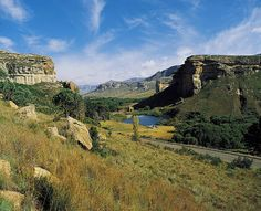 Golden Gate - South Africa by South African Tourism, via Flickr