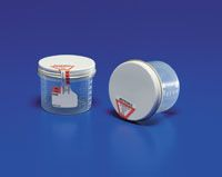 Precision™ 1.5oz and 4oz sterile specimen containers with tamper evident seals offer a leak-resistant seal which allows for effective transport in pneumatic tube systems.