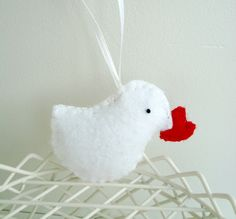 Cute idea -- could do other animals holding a heart too.