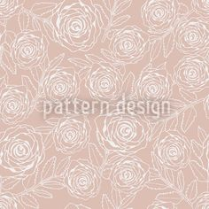 Rose Engraving by Kirsten Miller available for download as a vector file on patterndesigns.com