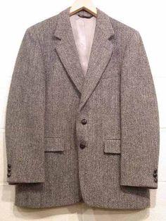 80's EAGLE Clothes Harrtis Tweed