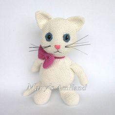 Matilda Cat The Ami - Amigurumi Crochet Pattern - Digital Download