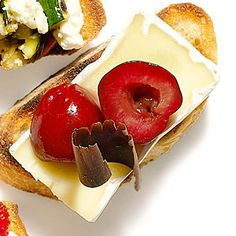 Cheese and Chocolate Bruschetta | MyRecipes.com