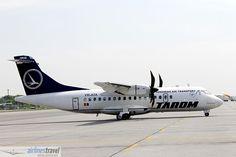 YR-ATA TAROM - ATR 42-500 Atr 42, Airline Travel, Aircraft, Aviation, Airplanes, Airplane, Plane