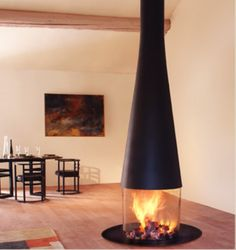 Very cool fire place