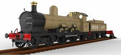 Fictional 4-4-2 GWR Design by No1ThomasFan2012 Old Trains, Steamers, Steam Engine, Steam Locomotive, Model Trains, Fighter Jets, Aircraft, Engineering, Antique