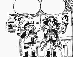 One Piece, Crossover, Naruto, Luffy
