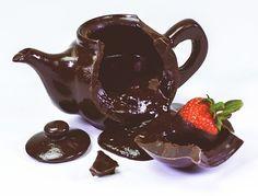 ***** Encontrei pra vc!!! *****: Conheça o bule de chocolate que promete deixar seu café ainda mais saboroso