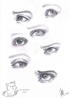 Pin by rau wahyd on human stuff in 2019 drawings, eye expressions, pencil d Eye Drawing Tutorials, Drawing Techniques, Art Tutorials, Eye Study, Realistic Eye Drawing, Drawing Expressions, Anatomy Drawing, Eye Art, Art Drawings Sketches