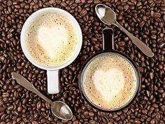 Gert Lavsen, photography, caffe latte, cup, bean, coffee,