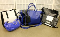 Bags of all shapes and sizes at @Canto NYC's showroom.