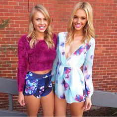 I really want both of these outfits♡ 10 Most Beautiful Women, Thing 1, Perfect Body, Dress Me Up, Rompers, Female, My Style, Outfits, Clothes
