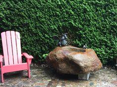 Brunnen & Pflanztröge | www.rinsernaturstein.de Firewood, Texture, Garden, Crafts, Natural Stones, Plants, Woodburning, Garten, Surface Finish