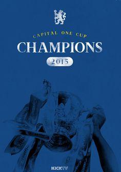 Capital One Cup Winners Chelsea Blue, Chelsea Fc, Chelsea Champions, Capital One, Chelsea Football, Stamford Bridge, Fulham, Blues, Affair