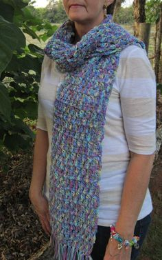 Multicolor Scarf by RobbieNae on Etsy, $15.00