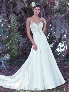 Kimberly Wedding Dress by Maggie Sottero|Main