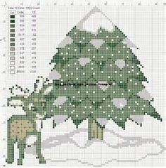 free christmas cross stitch patterns -