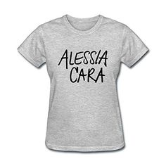 Jonnert Women's Know It All Alessia Cara Here Spring Short Sleeve T-Shirt XL - Brought to you by Avarsha.com