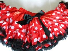 Minnie Mouse Pettiskirt Gracie must have this.... but it is out of stock!:(