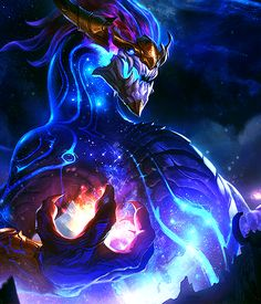 """pilt0ver:   """"Cower, Worship, Beg,           they're all valid reactions.""""  Aurelion Sol - The Star Forger"""