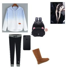 """""""🍂🌼🎃💛"""" by scardonacalle ❤ liked on Polyvore featuring Victoria's Secret and UGG Australia"""