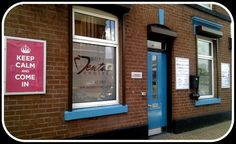 Keep Calm and Come in. We're in the heart of Bury. Brook House, 10A Wash Lane, BL9 6AS.
