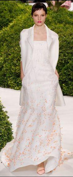 Christian Dior ~ Haute Couture   Spring 2013  style.com