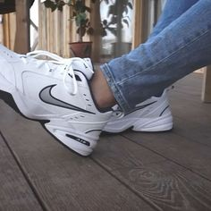Discover recipes, home ideas, style inspiration and other ideas to try. Nike Air Monarch, Nike Dad Shoes, Sneakers Fashion, Sneakers Nike, Outfits Hombre, Bling Shoes, Aesthetic Shoes, Hype Shoes, Fresh Shoes