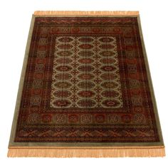 Found it at Wayfair.co.uk - Persian Bokhara Hand-Woven Brown Area Rug