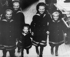 I love this photograph  It's the only photograph I've seen where these children are smiling