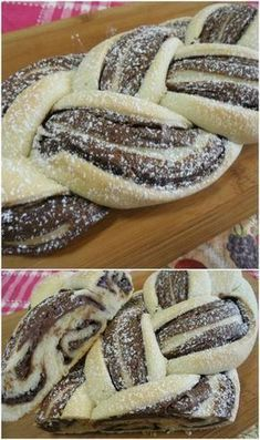 Open braid with nutella Italian Cookie Recipes, Best Italian Recipes, Baking Recipes, Cake Recipes, Dessert Recipes, Nutella, Lemon Desserts, Mini Desserts, Popular Italian Food