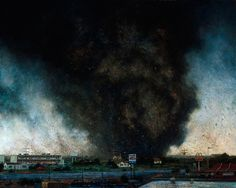 john Brosio - tornadoes  ...the calm & the calamity yet to happen...doom to follow.