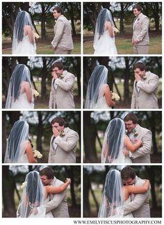 First Look - Wedding