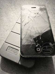 Broken IPhone Happens IHeart Repair Fixes It By Staci At 7onashoestring