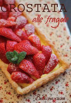 #crostata alle fragole#brisè#