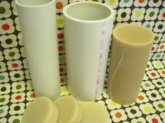 PVC Pipe Mold- just did this today. I can not wait to see how the soap turns out!
