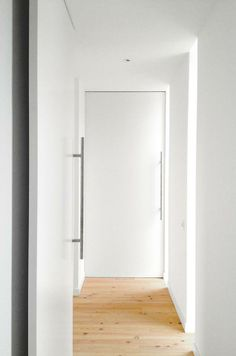 Room corridor with side windows | A House by 08023 Architects in Barcelona | #Houses #Corridors #Light