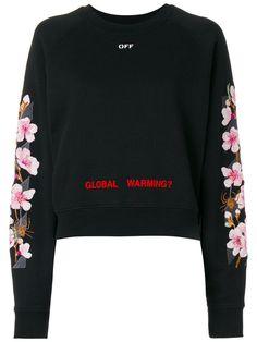 c2faa38c02 Shop Off-White cherry oversized sweatshirt.
